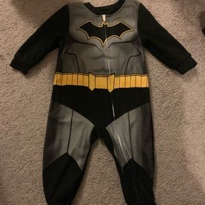 Batman fleece onesie